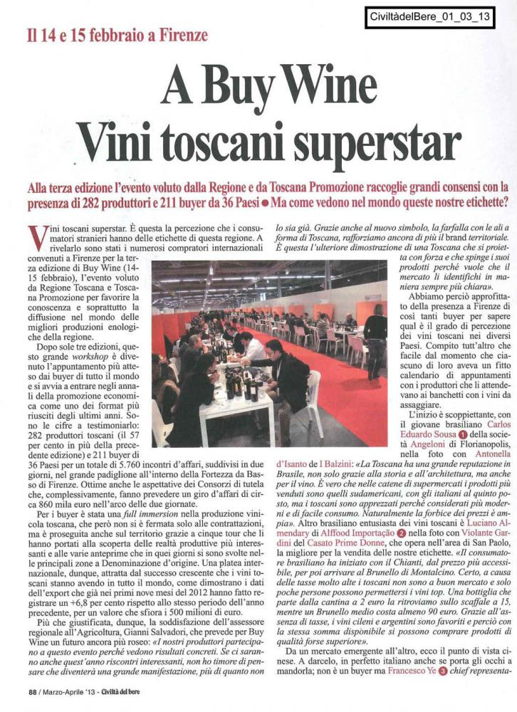 A Buy Wine Vini toscani superstar